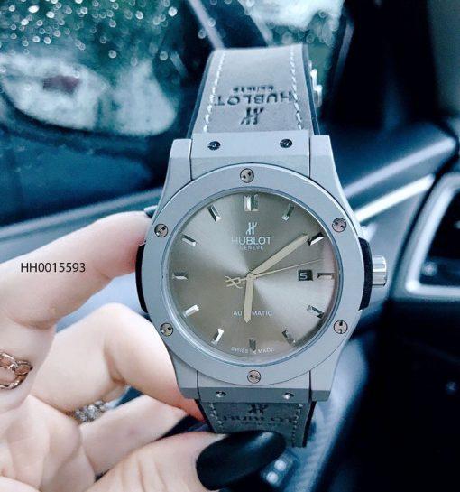 Đồng hồ Hublot nam Genever Classic Fusion lộ máy cơ tự động cao cấp