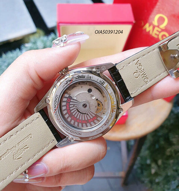 Đồng hồ máy cơ lộ máy omega giá rẻ