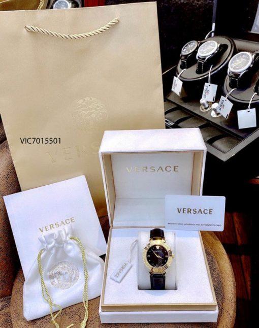 Đồng Hồ cặp Versace Cặp V Race và Daphnis Leather dây da