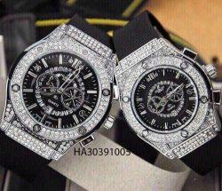Đồng hồ cặp Hublot Nam Nữ 5 kim giá rẻ