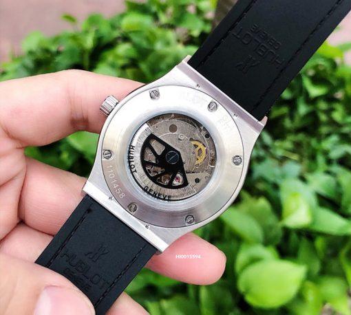 Đồng hồ hublot Classic Fusion máy cơ lộ máy giá rẻ,