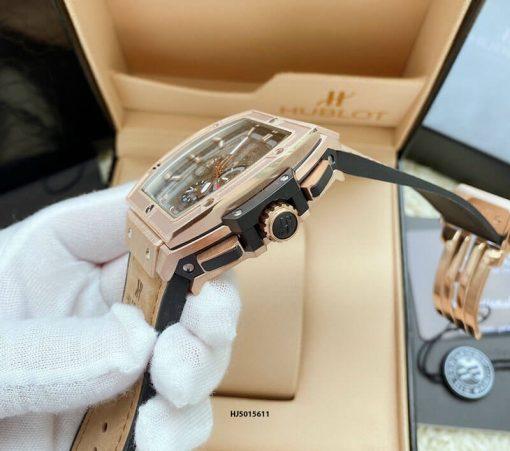 Đồng hồ Hublot Nam dòng Senna Champion 88 phiên bản Limited màu da bò