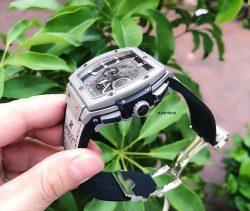 Đồng hồ Hublot Nam dòng Senna Champion 88 phiên bản Limited màu xám