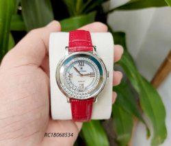 Đồng hồ Royal Crown nữ 3638 chính hãng đính đá mặt đá