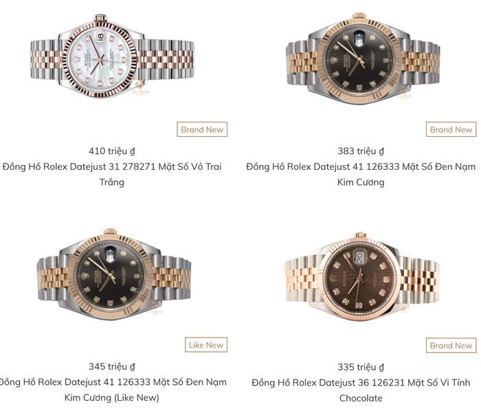 Giá đồng hồ rolex chính hãng là bao nhiêu