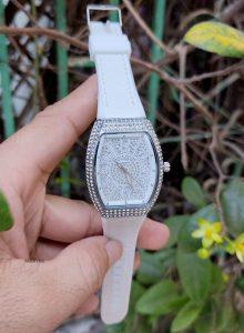 Đồng Hồ Franck Muller Nữ Dây Da trắng giá rẻ