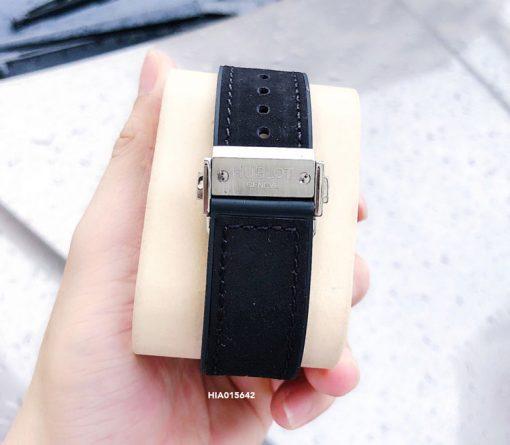 Đồng hồ Hublot Classic Big Bang Sang Bleu dây cao su màu đen