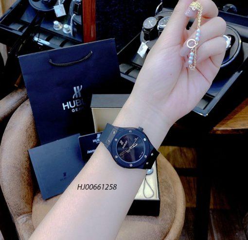 Đồng hồ cặp Hublot Classic Fusion 40 Years Anniversary dây cao su thiên nhiên