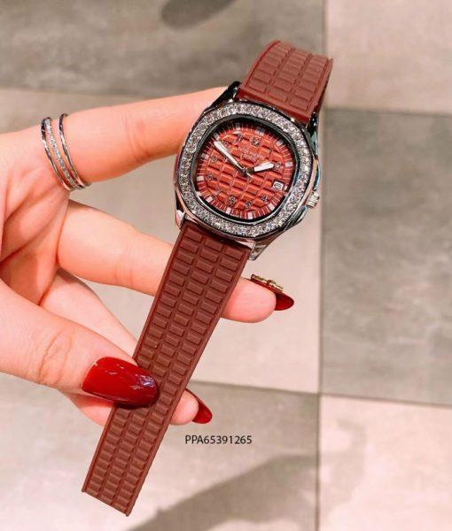 đồng hồ patek philippe dây cao su giá rẻ