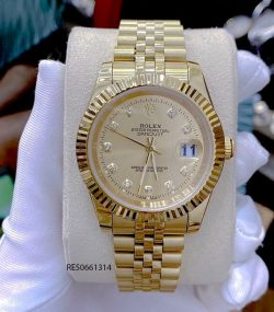 Đồng hồ Cặp Rolex Oyster Perpetual Datejust mạ vàng cao cấp
