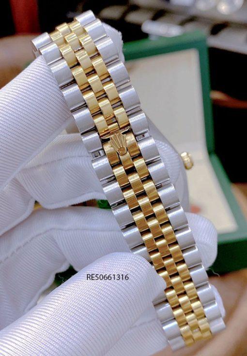 Đồng hồ Cặp Rolex Oyster Perpetual Datejust cơ Nam trắng cao cấp
