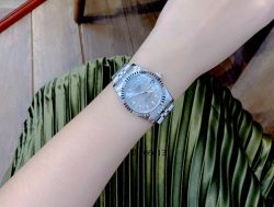 Đồng hồ Cặp Rolex Oyster Perpetual Datejust mặt xám cao cấp giá rẻ