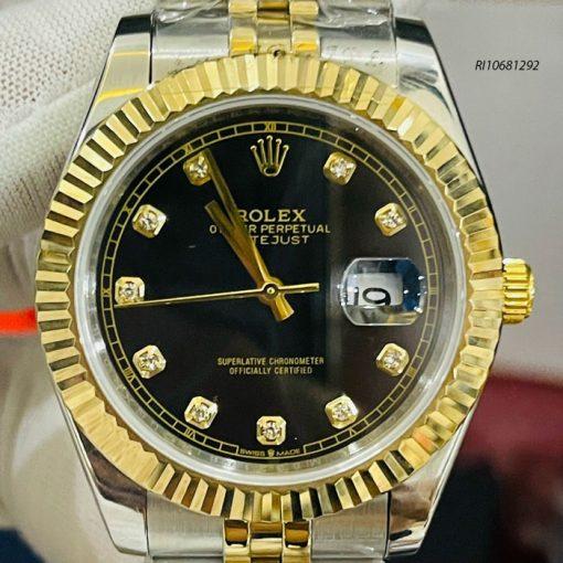 Đồng hồ Rolex Nam máy cơ automatic dây kim loại Demi