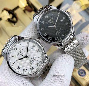 đồng hồ tissot nam dây kim loại máy cơ giá rẻ