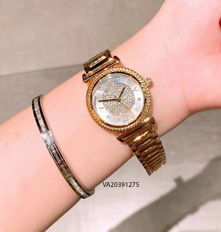 Đồng hồ nữ versace dây kim loại giá rẻ