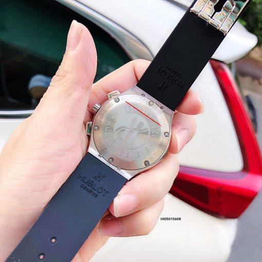 Đồng hồ Hublot Geneve Big Bang 5828885 kim dây đen cao cấp