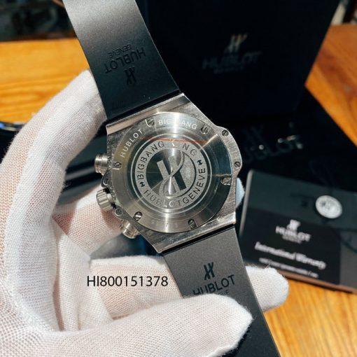 Đồng hồ Hublot Nam Big Bang King 2021 đính đá dây xanh cao cấp