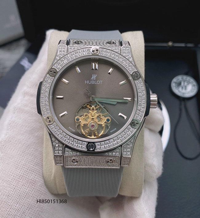 Đồng hồ hublot cơ đính đá nam giá rẻ