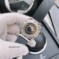 Đồng hồ Hublot nữ dây cao su màu đen máy cơ cao cấp