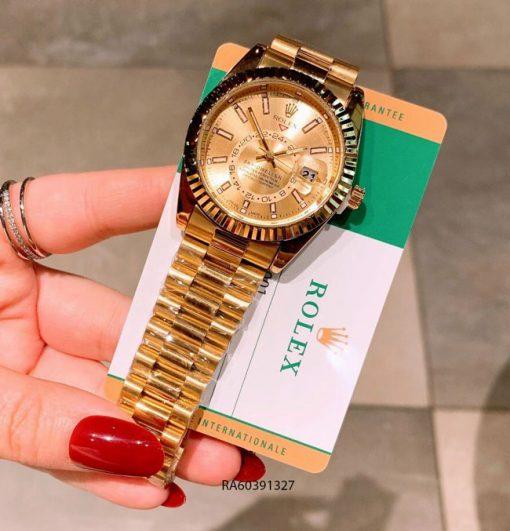 Đồng Hồ Rolex Nam dây thép không gỉ đúc đặc giá rẻ