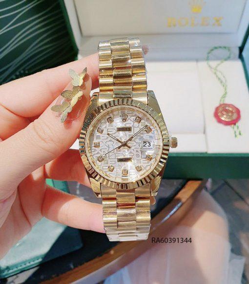 Đồng hồ nam mặt vân dây đúc đặc giá rẻ
