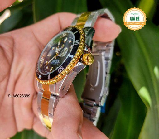 Đồng hồ Rolex Nam thể thao dây kim loại giá rẻ