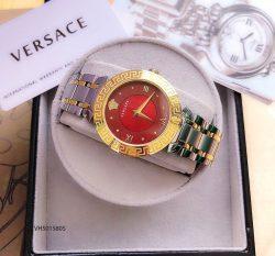 Đồng hồ nữ Versace Red Daphnis dây kim loại cao cấp