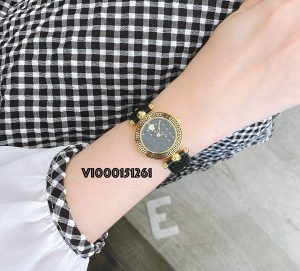 Đồng hồ Versace Mini Vanitas Micro Analog Display Swiss Quartz Black