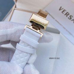 Đồng hồ Versace Mini Vanitas Micro Analog Display Swiss Quartz White