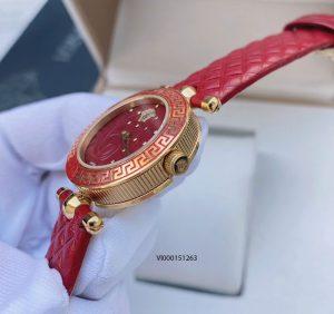 Đồng hồ Versace nữ mini Red Vanitas máy thụy sĩ cao cấp