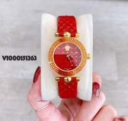 Đồng hồ Versace Mini Vanitas Micro Analog Display Swiss Quartz Red
