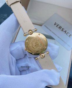 Đồng hồ Versace nữ mini Vanitas dây da máy thụy sĩ