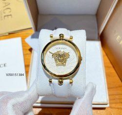 Đồng hồ Versace Palazzo Empire Barocco nữ dây da màu trắng
