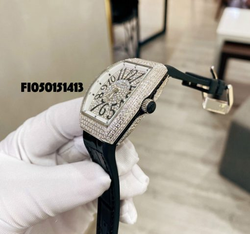 Đồng hồ nữ Franck Muller Vanguard V 32 đính đá cao cấp