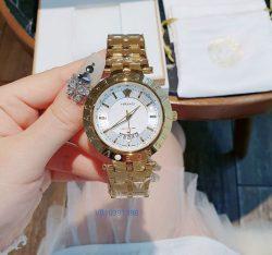 Đồng hồ Nam Versace dây kim loại giá rẻ