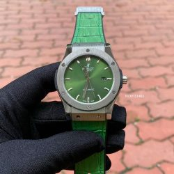 Đồng hồ Hublot Classic Fusion Nam Automatic xanh lá cây cao cấp