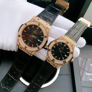 Đồng hồ Cặp Hublot đính đá