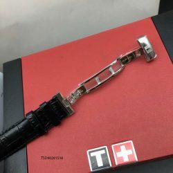 Đồng hồ Tissot 1853 Nam cơ máy lộ máy dây da cao cấp