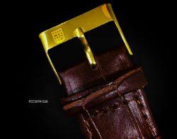 Đồng hồ FC cơ Automatic nam lộ máy mặt hình ngựa mạ vàng cực đẹp
