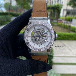Đồng hồ Hublot Nam đính đá kim cương máy cơ cao cấp
