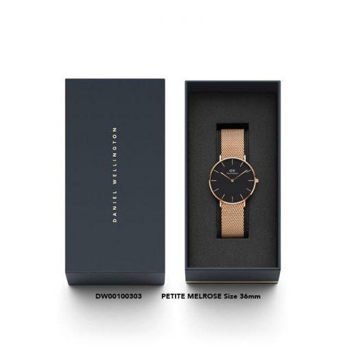 Đồng hồ DW Super Cao Cấp Classic Petite Gold Black 28mm-32mm-36mm